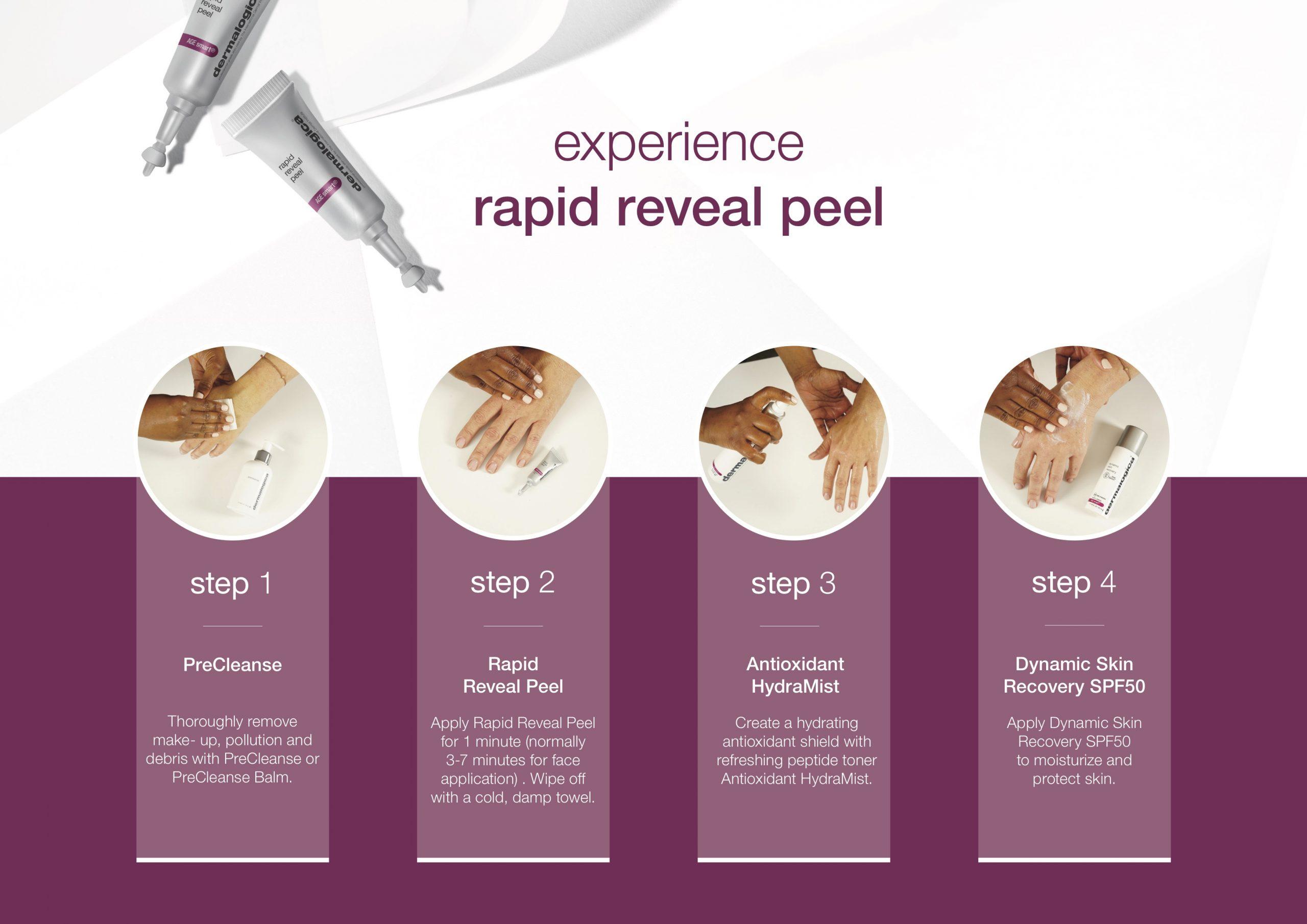 Experience rapid reveal peep copy
